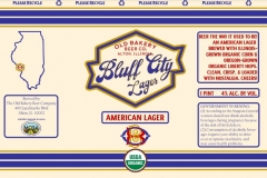 The Old Bakery Beer Company - Bluff City Lager