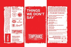 Temperance Beer Co. - Things We Don't Say