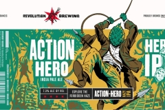 Revolution Brewing - Action-hero