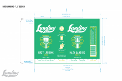 Landing Beer Co - Hazy Landing