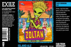 Exile Brewing Company - Zoltan