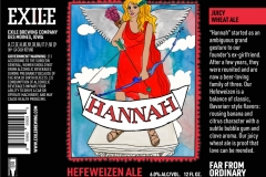 Exile Brewing Company - Hannah