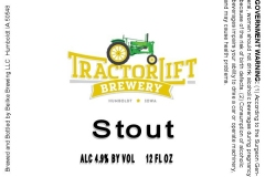 Tractorlift Brewery - Stout