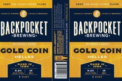 Backpocket Brewing - Gold Coin