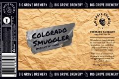 Big Grove Brewery - Colorado Smugler
