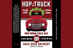 Backroad Brewery - Hop In The Truck Made With Citrus Hops Red India Pale Ale