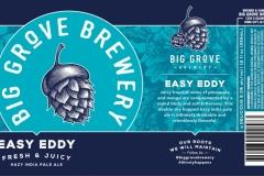 Big Grove Brewery - Easy Eddy