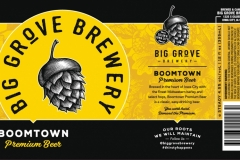 Big Grove Brewery - Boomtown