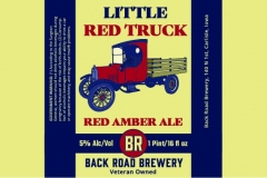 Backroad Brewery - Little Red Truck   Red Amber Ale