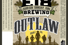 E18 Brewing Company - Outlaw Double Ipa