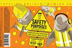 Toppling Goliath Brewing Co. - Safety Porpoises Double India Pale Ale