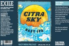 Exile Brewing Company - Citra Sky