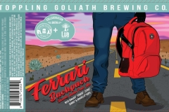 Toppling Goliath Brewing Co. - Ferrari Backpack Double India Pale Ale
