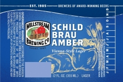 Millstream Brewing Co - Schild Brau Amber