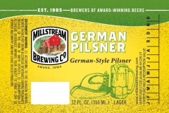 Millstream Brewing Co - German Pilsner