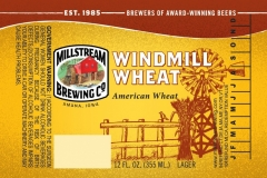 Millstream Brewing Co - Windmill Wheat