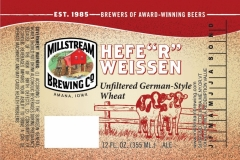 Millstream Brewing Co - Hefe'r Weissen