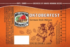 Millstream Brewing Co - Oktoberfest