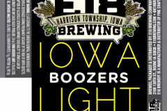 E18 Brewing Company - Iowa Boozers Light