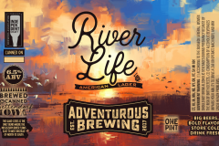 Adventurous Brewing - River Life American Lager