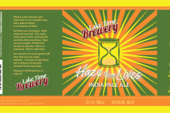 Lake Time Brewery - Haze Of Our Lives
