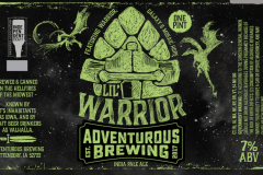 Adventurous Brewing - Lil Warrior