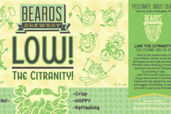 Beards Brewery - Low! The Citranity!