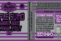 Austin Brothers Beer Co - Apple Sumo