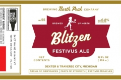 North Peak Brewing Company - Blitzen