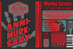 Austin Brothers Beer Co - Anni-murk-sary