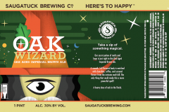 Saugatuck Brewing Co. - Oak Wizard