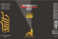 Salt Springs Brewery - Oktoberfest Cancelled 2020