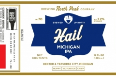 North Peak Brewing Company - Hail