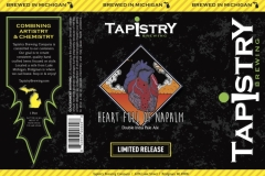 Tapistry Brewing Company - Heartfull Of Napalm