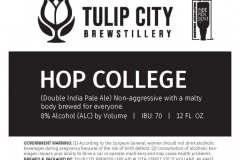 Tulip City Brewstillery - Hop College