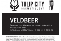 Tulip City Brewstillery - Veldbeer