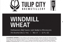 Tulip City Brewstillery - Windmill Wheat