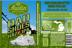 Austin Brothers Beer Co - Dad Shoes Hazy Ipa