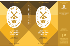 New Holland Brewing Co. - Light At The End Of The Can