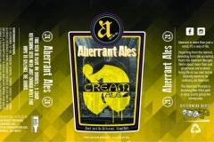 Aberrant Ales - Cream Ale