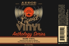 Arbor Brewing Company - Liquid Vinyl Anthology Series Rare Vinyl