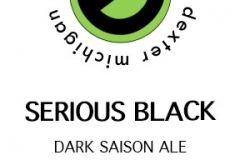 Erratic Ale Co. - Serious Black Dark Saison Ale