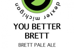 Erratic Ale Co. - You Better Brett Brett Pale Ale