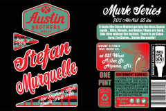Austin Brothers Beer Co - Stefan Murquelle