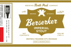 North Peak Brewing Company - Berserker