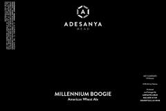 Adesanya Mead, Resident Brewer - Millennium Boogie
