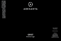 Adesanya Mead, Resident Brewer - Grist