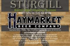 Haymarket Beer Company - Sturgill
