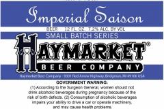 Haymarket Beer Company - Imperial Saison