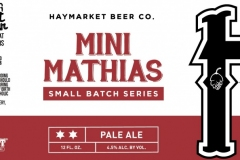 Haymarket Beer Company - Mini Mathias